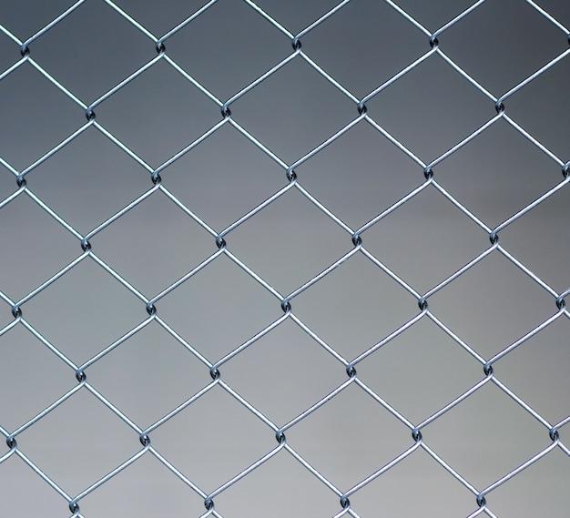 Fond de clôture métallique