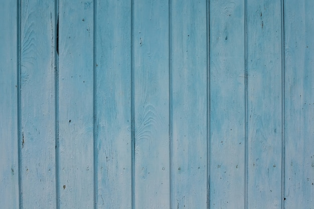 Fond de clôture texturée en bois bleu
