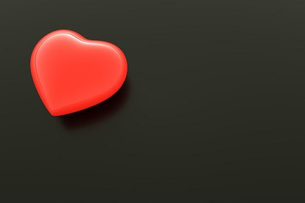 Fond de coeur et espace libre pour l'icône de coeur de texte, fond de saint-valentin, fond de fête des mères