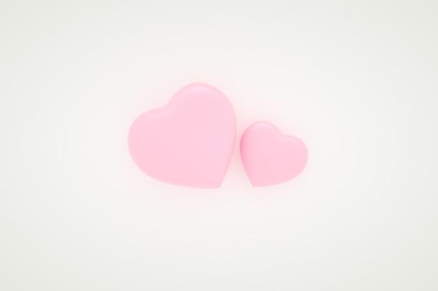 Fond de coeur rose, fond de saint-valentin