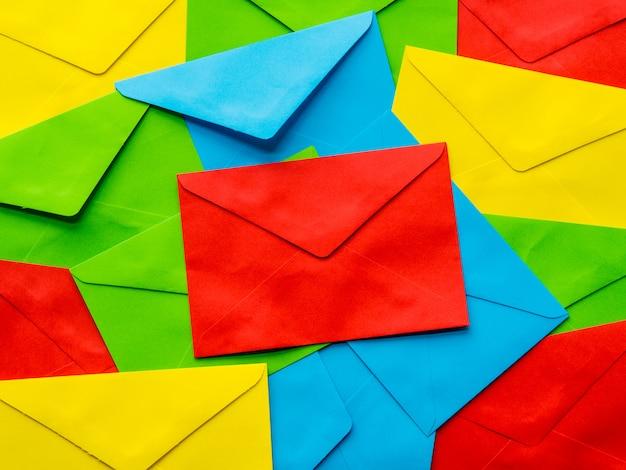 Fond coloré lettre de motivation