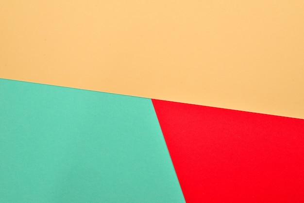 Fond coloré orange, rouge, vert