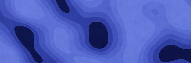 Fond de contour graphique abstrait bleu