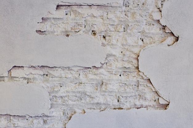 Fond de corrosion blanc nouveau mur de briques