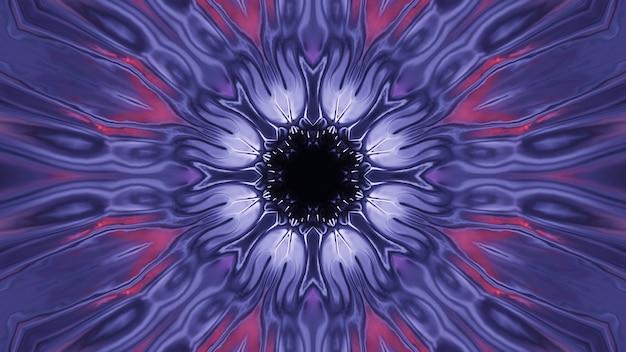Fond cosmique avec des lumières laser violettes