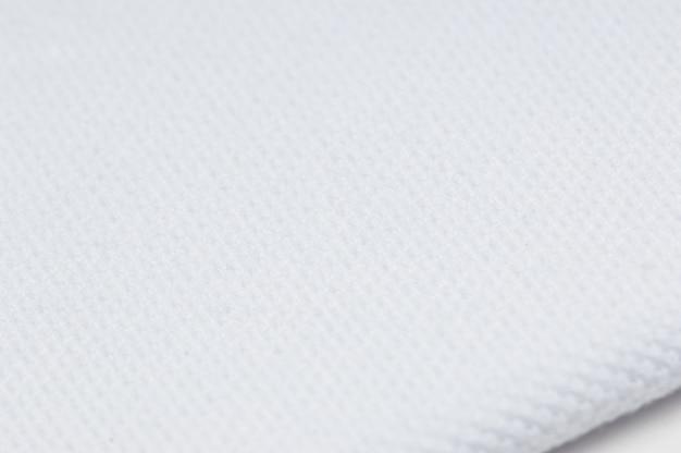 Fond de couleur blanche de tissu et de textile