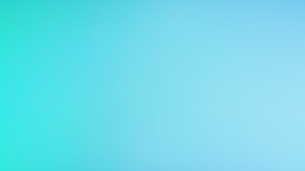 Fond de couleur claire vert menthe et bleu. modèle de bannière. abstrait dégradé flou.