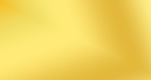 Fond de couleur dégradé d'or pour la toile de fond abstrait créatif