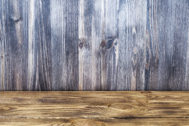 Fond de couleur de deux types de planches