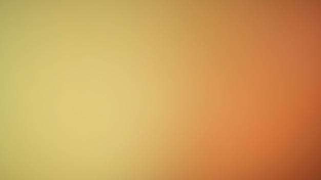 Fond de couleur jaune moutarde. fond dégradé flou abstrait. modèle de bannière