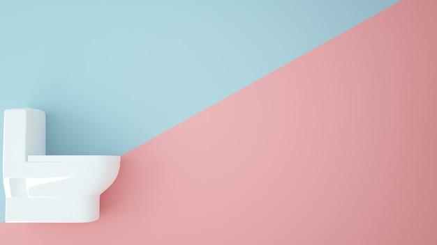 Fond de couleur pastel - rendu 3d
