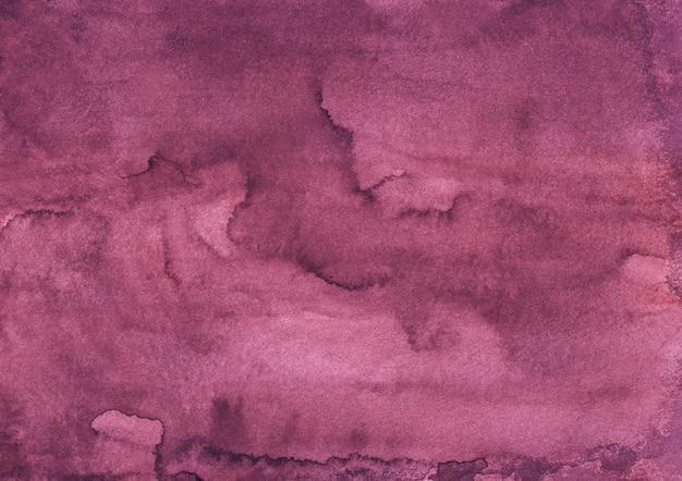 Fond de couleur pourpre profond aquarelle