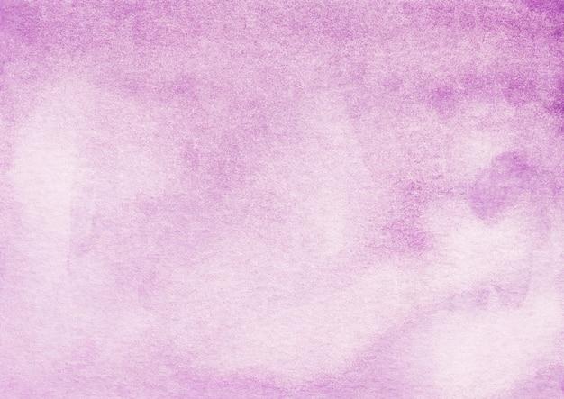 Fond de couleur rose lilas clair aquarelle