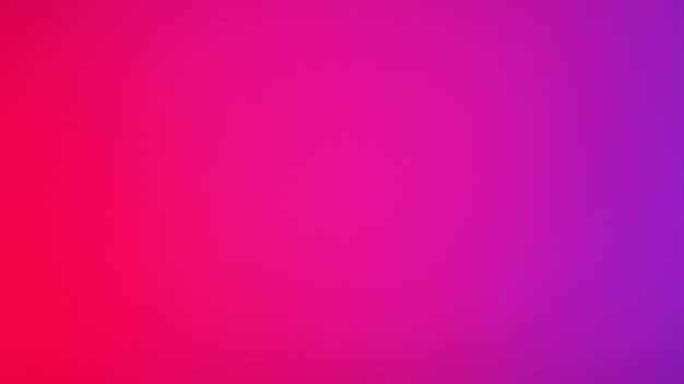 Fond de couleur rouge et violet rose néon. fond dégradé flou abstrait. modèle de bannière.