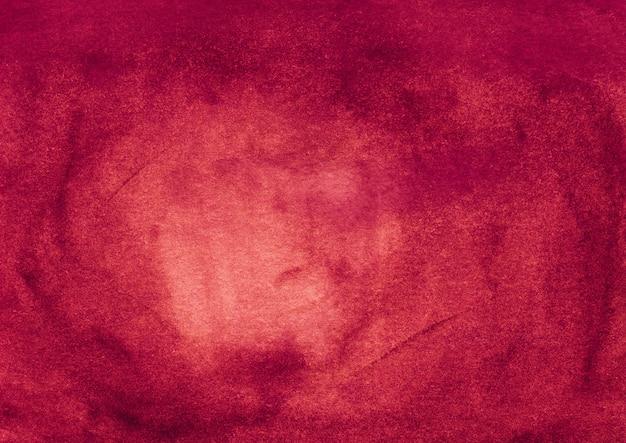 Fond de couleur rubis aquarelle avec espace pour le texte