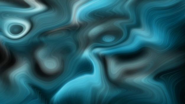 Fond de couleurs liquides océan bleu profond de luxe