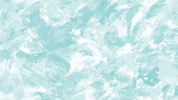 Fond De Coup De Pinceau Acrylique Bleu Photo Premium