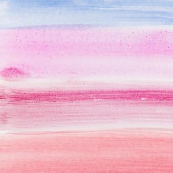 Fond de coups de pinceau aquarelle abstraite
