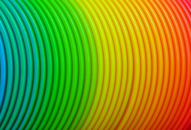 Fond de courbes colorées