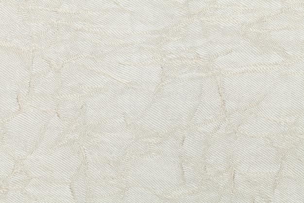 Fond crème blanc en matière textile