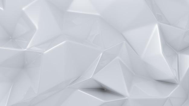 Fond de cristal blanc élégant. illustration 3d, rendu 3d.