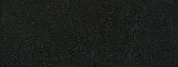 Fond en cuir noir