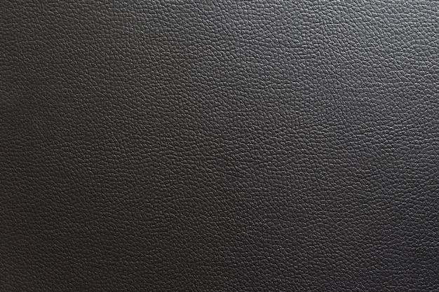 Fond de cuir et de texture noir.