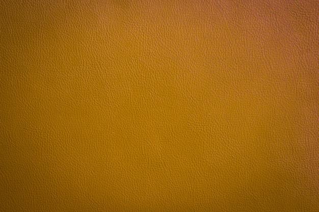 Fond en cuir vert orange