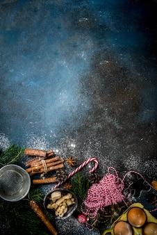 Fond de cuisson de noël