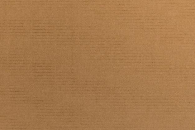 Fond décoratif en carton brun