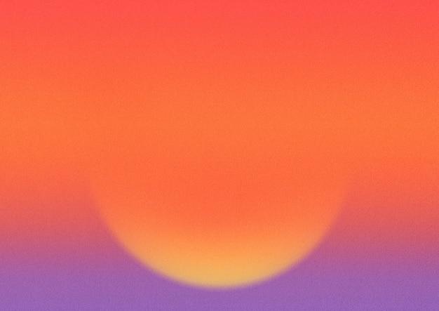 Fond dégradé coucher de soleil