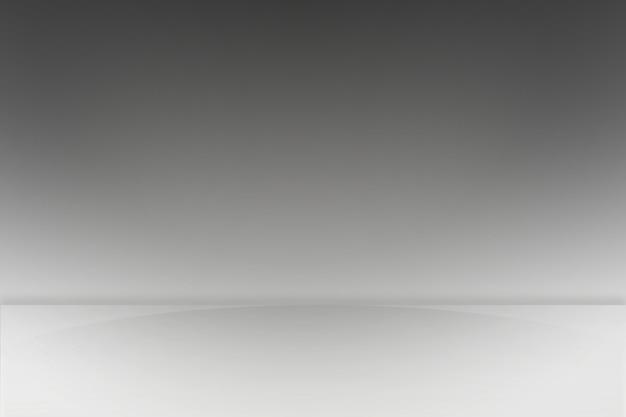 Fond dégradé de scène blanc et gris