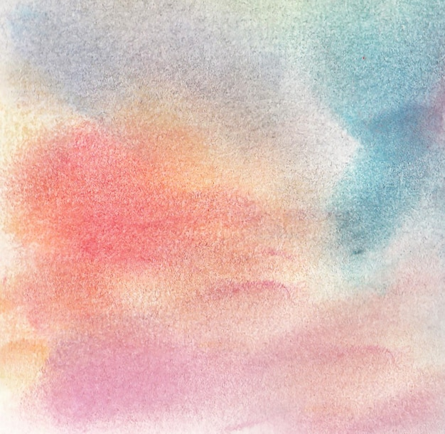 Fond d'un dessin avec des craies pastel douces dans différentes jolies couleurs.