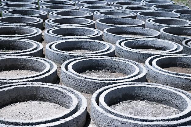 Fond de développement du contrat de pile de déchets