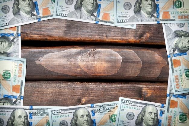 Fond de dollar américain argent