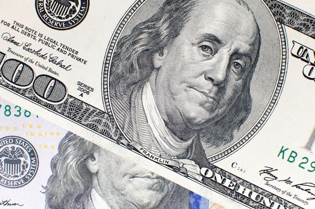 Fond de dollar américain usd