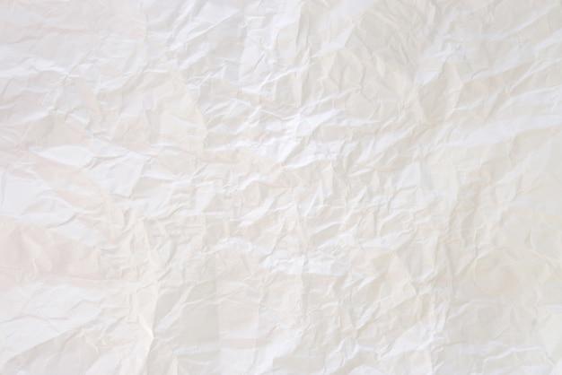 Le fond du papier froissé