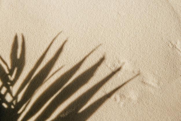 Fond avec du sable pastel pour la présentation du produit défilé pour la démonstration de
