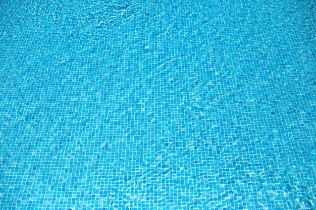 Fond de l'eau bleue.