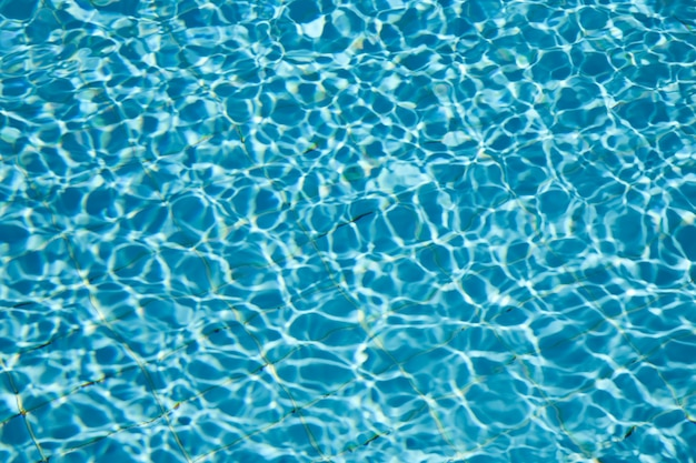 Fond d'eau dans la piscine