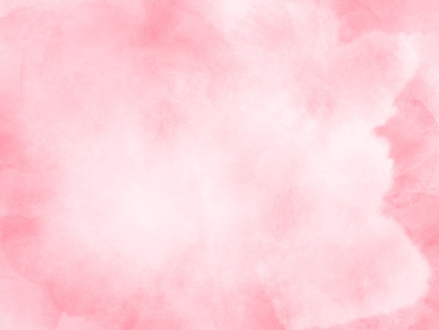 Fond d'éclaboussure de pinceau aquarelle rose pâle