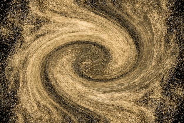 Fond d'écran abstrait fantastique. poussière d'étoiles. galaxie spirale