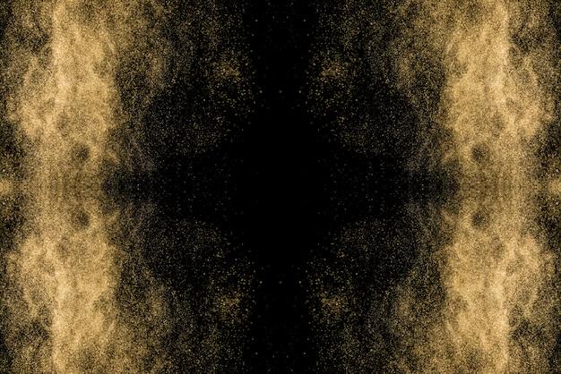 Fond d'écran abstrait fantastique. poussière d'étoiles
