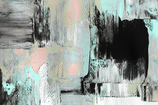 Fond d'écran abstrait, peinture acrylique pastel mélangée texturée