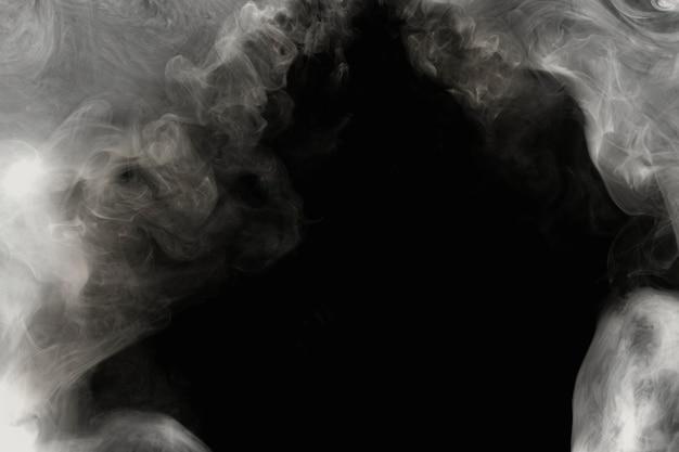 Fond d'écran abstrait sombre, conception de fumée