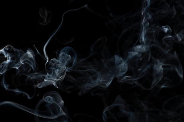 Fond d'écran abstrait sombre, texture fumée