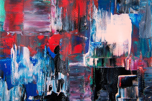 Fond d'écran abstrait, texture de peinture mixte