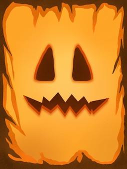 Fond d'écran citrouille mignon halloween illustration