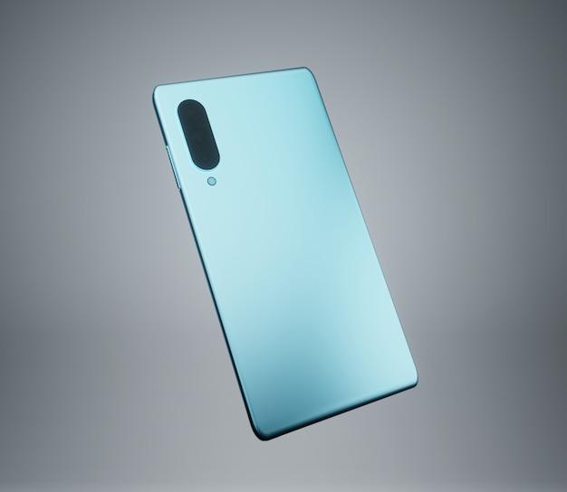 Fond d'écran de fond brillant moderne simple illustration de téléphone 3d