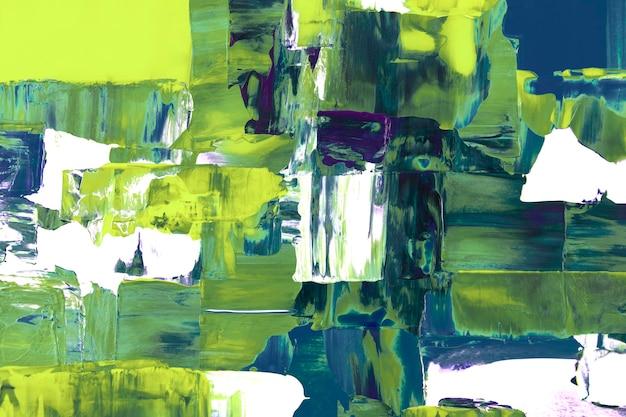 Fond d'écran néon, peinture abstraite texturée avec des couleurs mélangées
